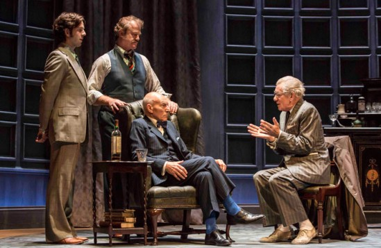 Review: No Man's Land at Wyndham's Theatre