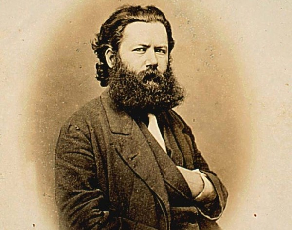 Ibsen as a young man