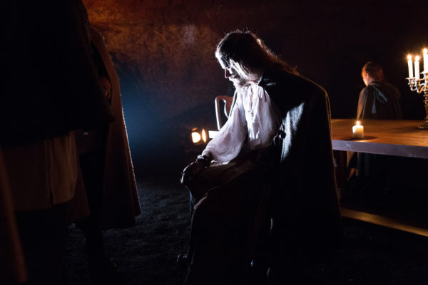Macbeth at the Redcliffe Caves.