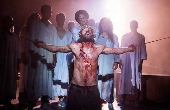 Jesus Christ Superstar at the Open Air Theatre. Photo: Tristram Kenton.
