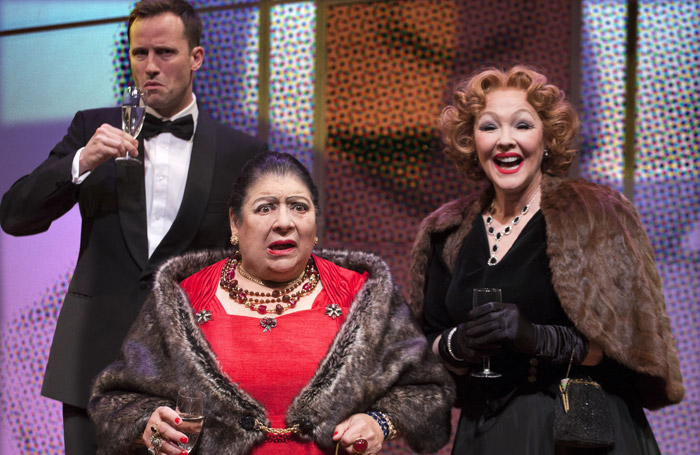 Madame Rubinstein, Park Theatre. Photo: Simon Annand.