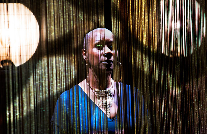 Nina at the Young Vic. Photo: Simon Annand.