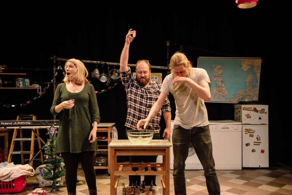 Thirty Christmases, New Diorama Theatre. Photo: Josh Tomalin.