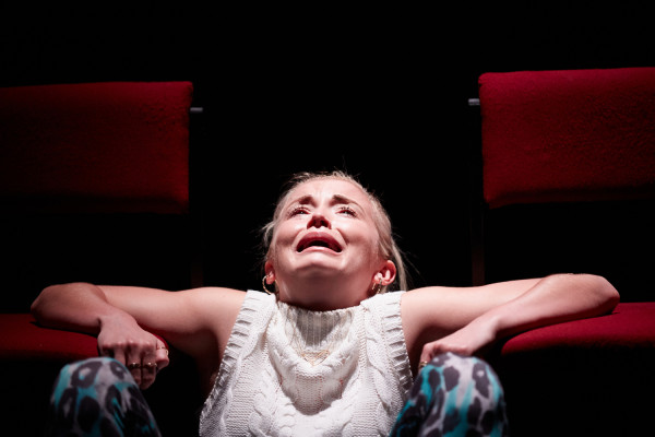 Sophie Melville in Iphigenia in Splott at National Theatre. Photo: Mark Douet.