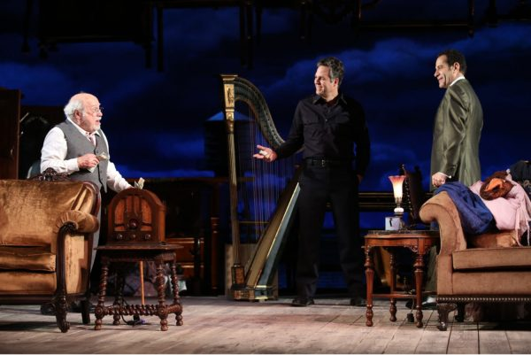 Danny DeVito, Mark Ruffalo, and Tony Shalhoub, making an assessment of lives lived in The Price (Photo: Joan Marcus)