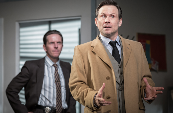 Glengarry Glen Ross, Playhouse Theatre. Photo: Marc Brenner.