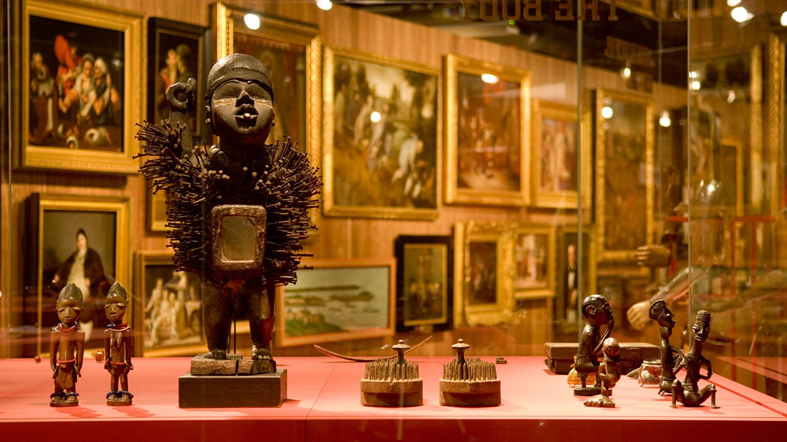 A view of Wellcome Collection's permanent exhibition. Photo: Wellcome Collection