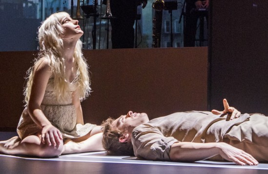 Lazarus at the King's Cross Theatre. Photo: Tristram Kenton.