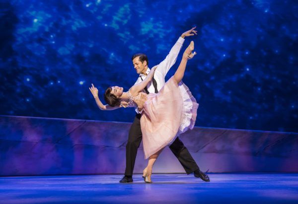 Robert Fairchild (Jerry Mulligan) and Leanne Cope (Lise Dassin) in An American In Paris at the Dominon Theatre. Photo: Tristram Kenton