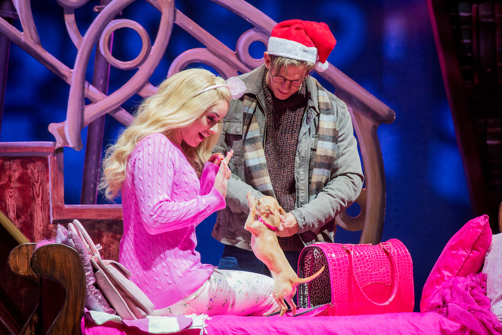 Legally Blonde the Musical at the New Wimbledon Theatre. Photo: Robert Workman.