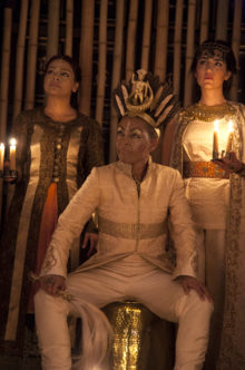 Richard II at Sam Wanamaker Playhouse. Photo: Ingrid Pollard.
