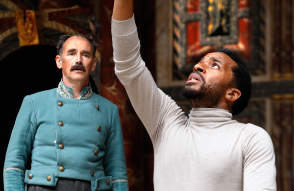 Othello at Shakespeare's Globe. Photo: Simon Annand.