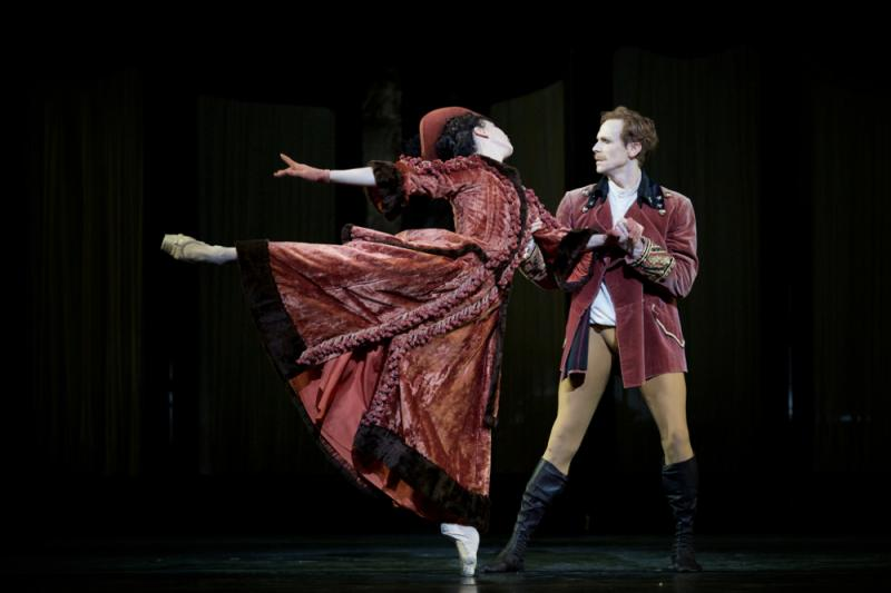 Natalia Osipova and Edward Watson in 'Mayerling' at the Royal Opera House. Photo: Alice Pennefather