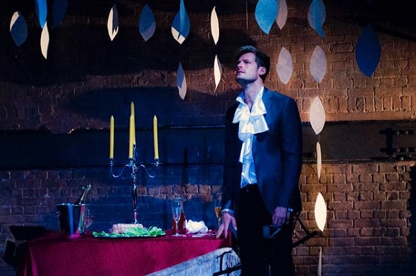 Mozart and Salieri at Arcola Theatre. Photo: Yole Lambrecht.