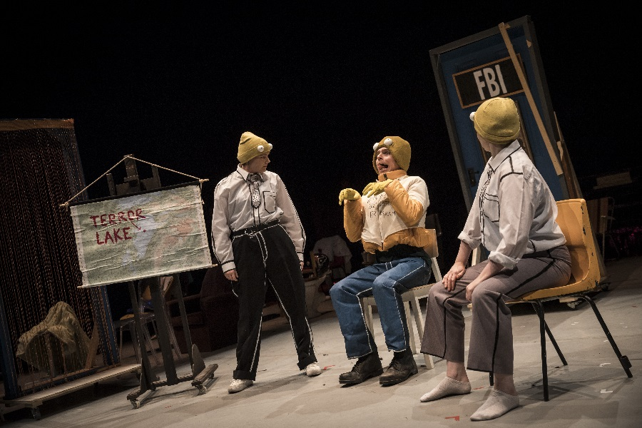 Mr Burns, Project Arts Centre. Photo: Ste Murray.