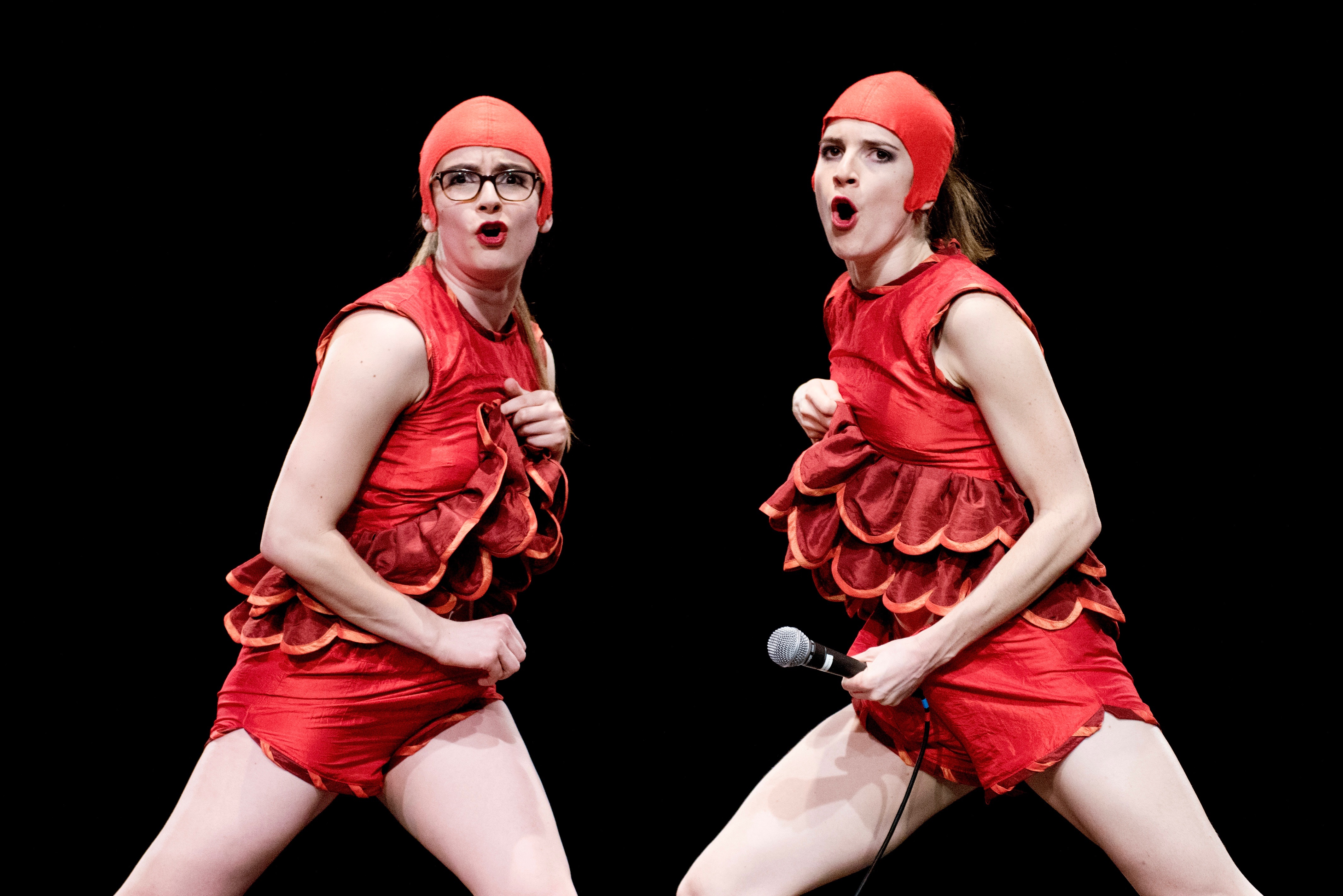 Bloody Nora by Liz Aggiss at Sadler's Wells. Photo: Camilla Greenwell.
