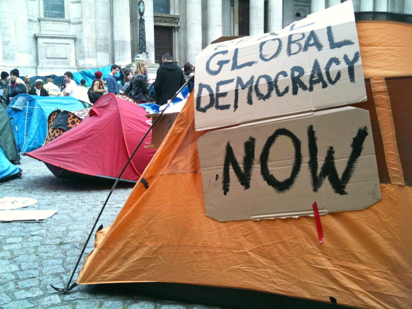Occupy London. Photo: Neil Cummings