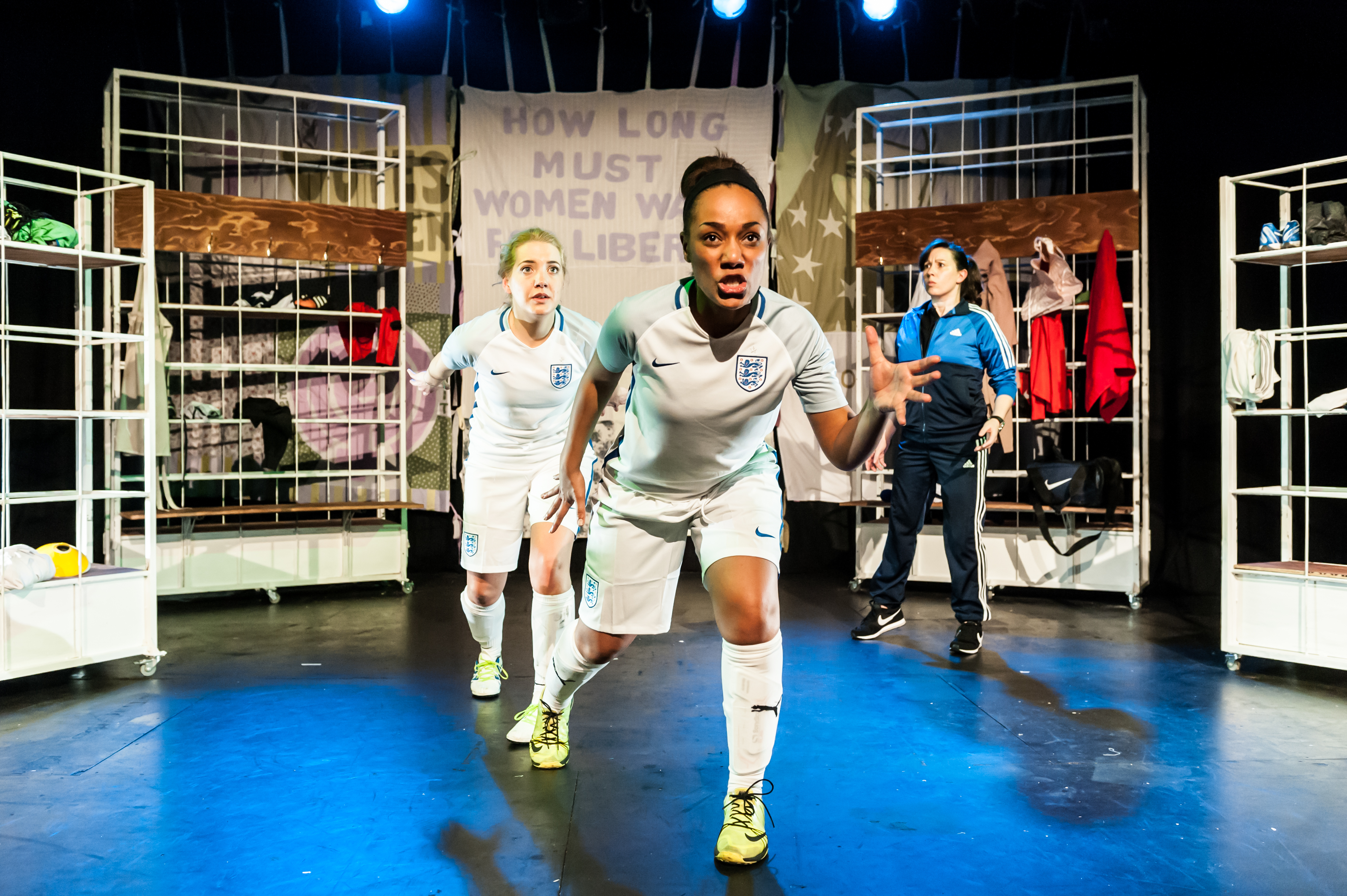 Offside at Pleasance Courtyard, as part of the Edinburgh Fringe 2017.