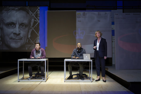 The Haystack at Hampstead Theatre. Photo: Ellie Kurttz.