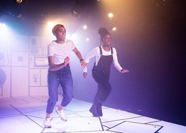 Shuck n Jive at Soho Theatre. Credit: Helen Maybanks.