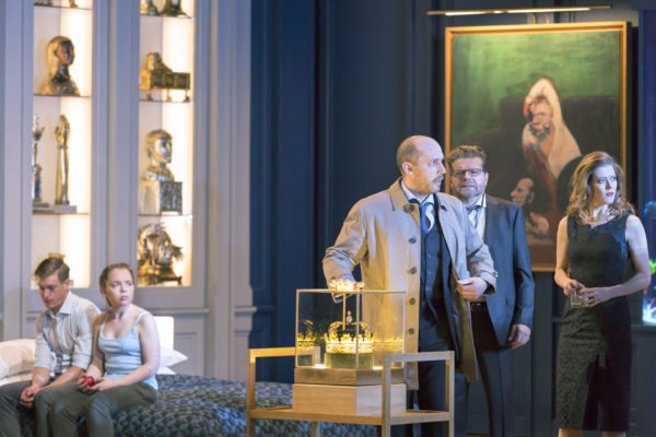 Lessons in Love and Violence at the Royal Opera House. Photo: Stephen Cummiskey