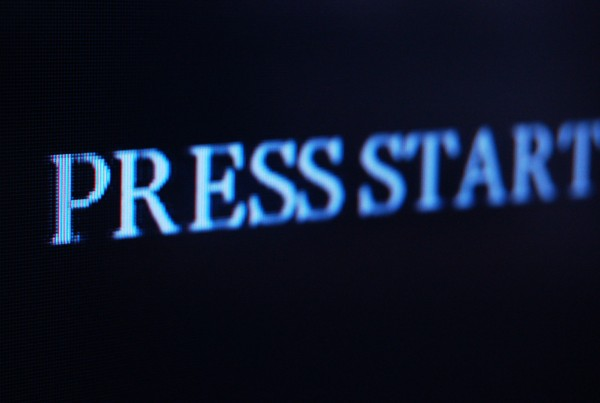 Three Short Plays About Video Games: PRESS START