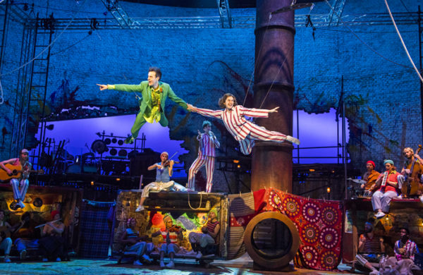 Peter Pan at the National Theatre. Photo: Tristram Kenton.