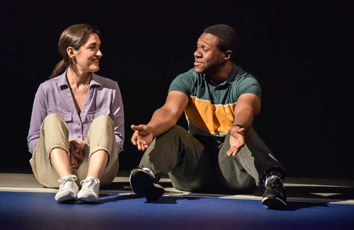 Cash Cow at Hampstead Theatre. Photo: Robert Day.
