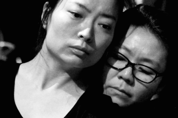 Jeungsook Yoo and Sunhee Kim. Photo: Ger Fitzgibbon