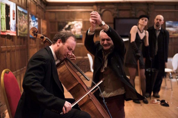 Review: What Shall We Do With The Cello? at Vault festival