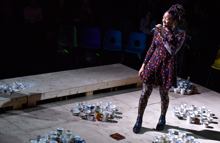 Laurietta Essien in The Mysteries at Royal Exchange, Manchester. Photo: Joel Chester Fildes.