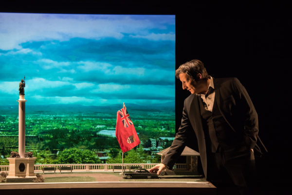 Robert Lepage in 887. Photo: Stephanie Berger