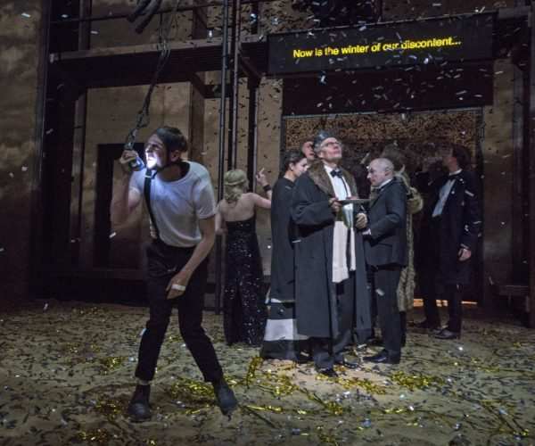 Schaubühne Berlin's Richard III, directed by Thomas Ostermeier. Photo: Richard Termine