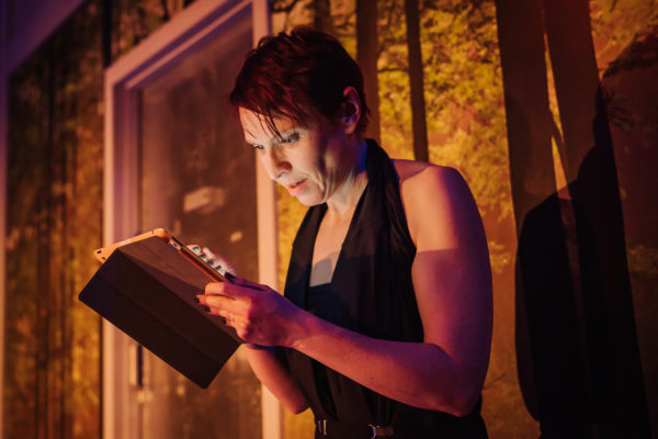 Girl in the Machine at the Traverse Theatre. Photo: Mihaela Bodlovic.