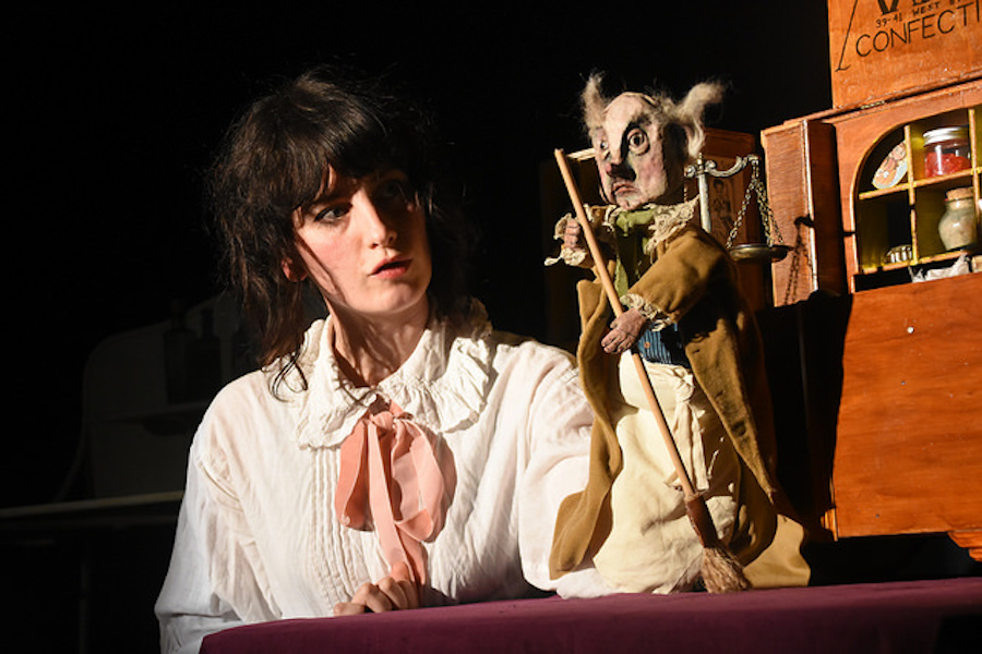 The Sorrowful Tale of Sleeping Sidney at the Theatre Royal Brighton. Photo: Peter Williams.