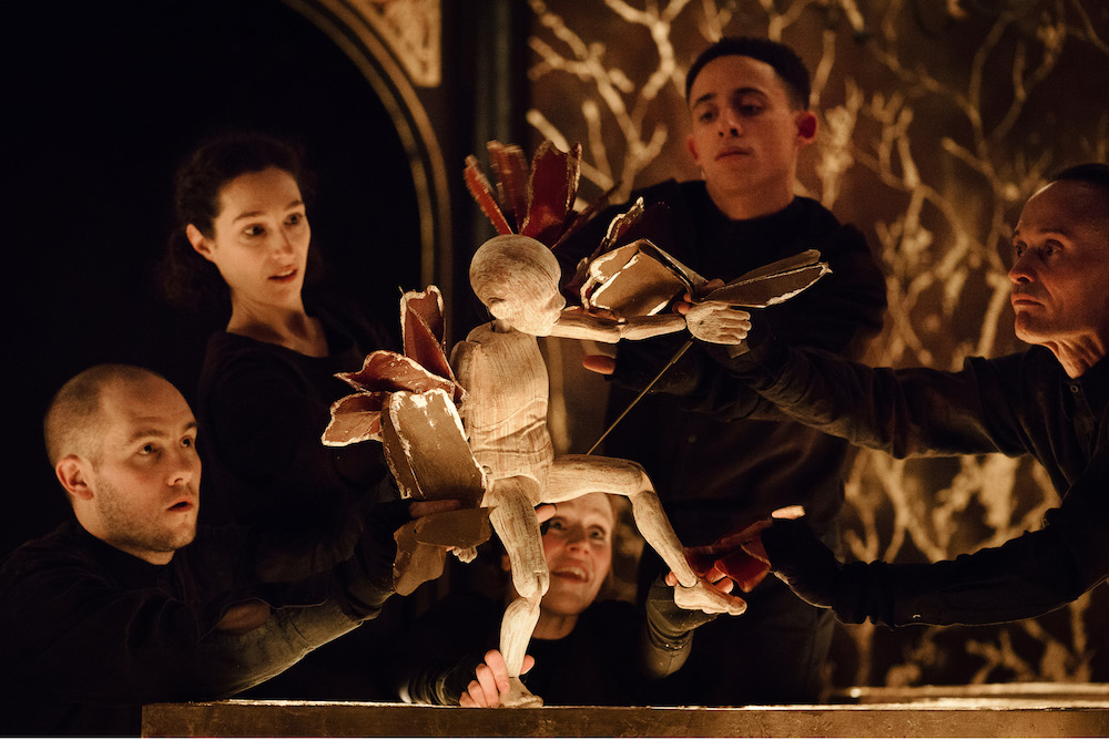 Vivaldi's The Four Seasons: A Reimagining at the Sam Wanamaker Playhouse. Photo: Steve Tanner