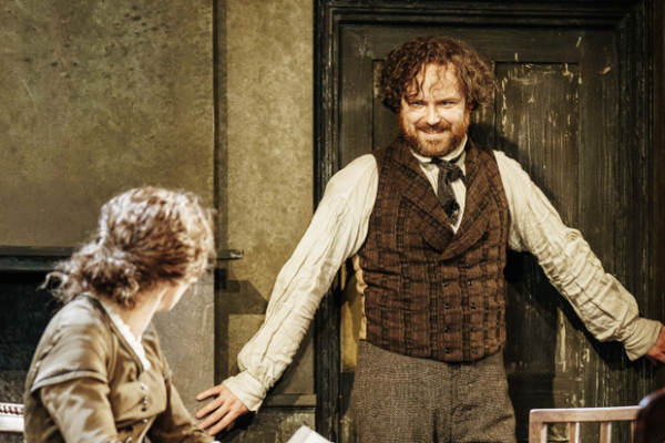 Review: Young Marx at Bridge Theatre