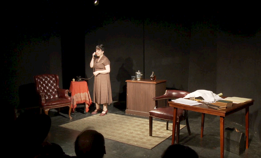 The Portable Dorothy Parker at Gilded Baloon at the Rose Theatre, as part of the Edinburgh Fringe 2017.