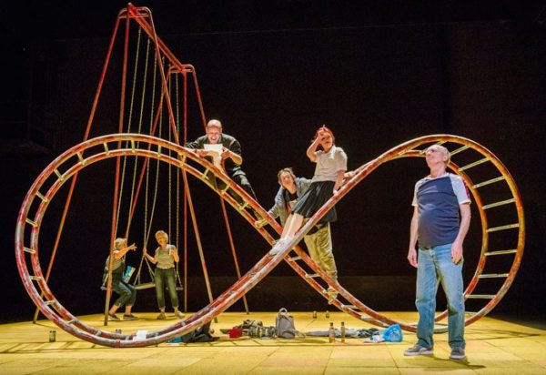 Seventeen at the Lyric Hammersmith. Photo: Tristram Kenton.