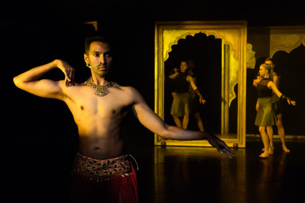 Bayadere - The Ninth Life at Sadler's Wells. Photo: Jane Hobson.