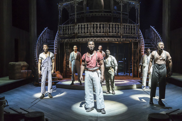 Show Boat at the New London Theatre. Photo: Johan Persson.