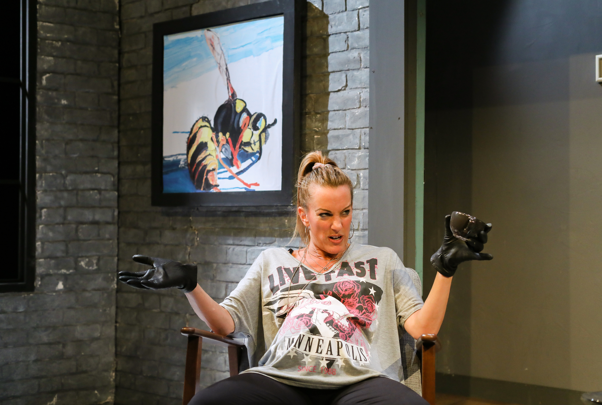 The Wasp at the Jermyn Street Theatre.