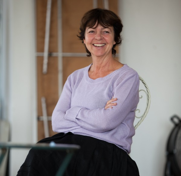 Tessa Peake-Jones in rehearsal for Home.