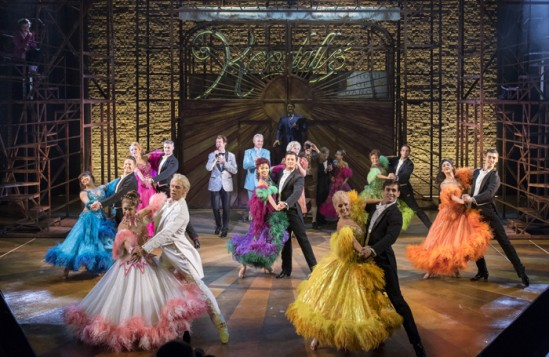 Strictly Ballroom: The Musical at the West Yorkshire Playhouse. Photo: Alistair Muir.