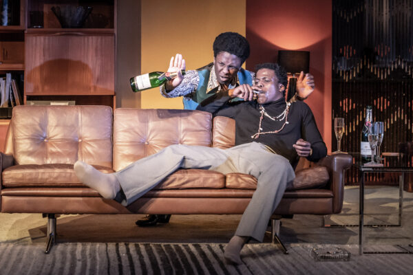 The Death of a Black Man at Hampstead Theatre. Photo © Marc Brenner