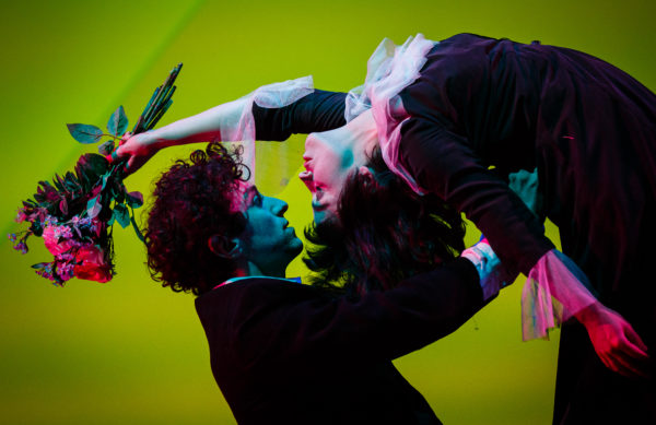 The Flying Lovers of Vitebsk at Bristol Old Vic. Photo: Steve Tanner.