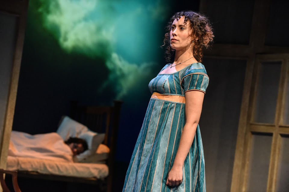 Sarah Kempton in Sense and Sensibility at York Theatre Royal. Photo: Robert Day