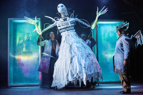 The Snow Queen at Bristol Old Vic. Photo: Mark Douet.