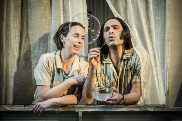 The Two Character Play at Hampstead Theatre. Photo credit: Marc Brenner.
