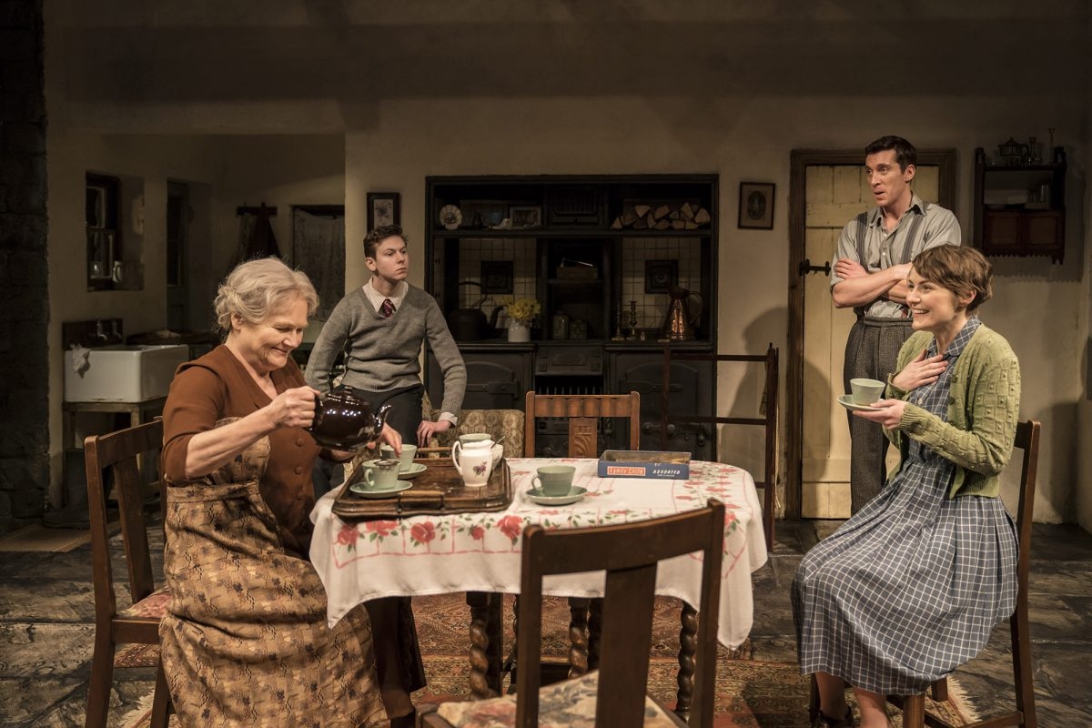 The company of 'The York Realist'. Photo: Johan Persson